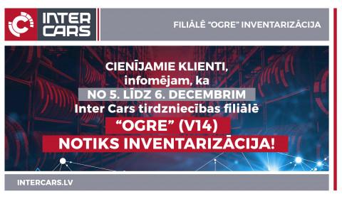 """Filiāles V14 """"Ogre"""" inventarizācija"""