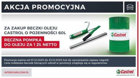 Nowa promocja na beczki oleju Castrol!