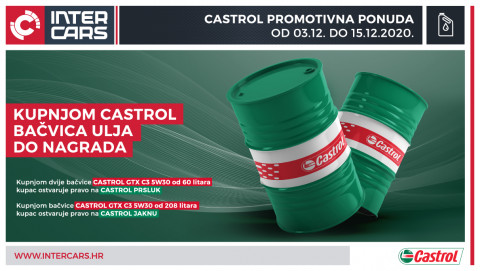 Castrol promotivna ponuda - GTX C3 5W30