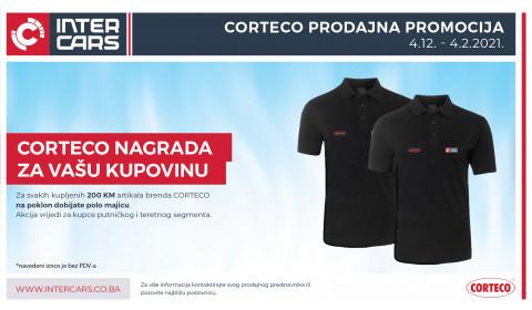 Kupuj CORTECO artikle i osvoji POLO majicu