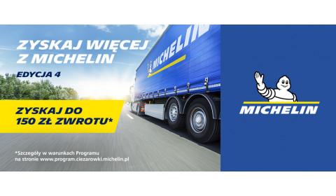 """4. edycja akcji """"Zyskaj więcej z Michelin"""""""