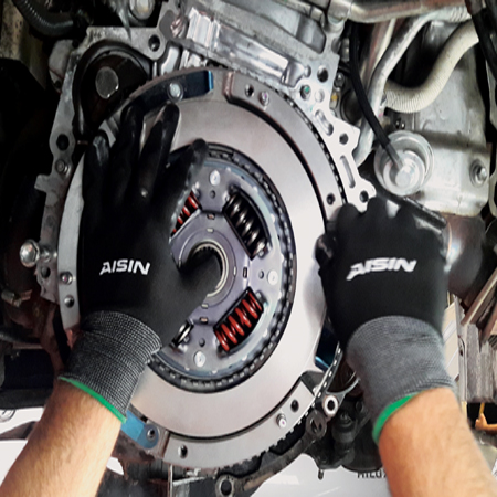 Complete clutch kit replacement