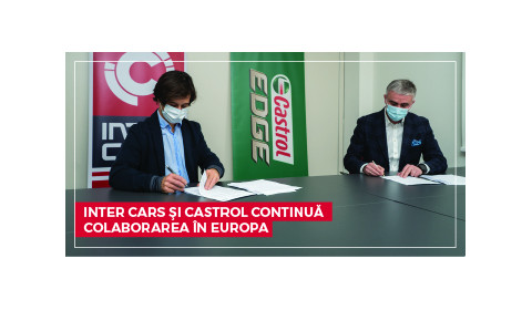 INTER CARS SI CASTROL CONTINUA COOPERAREA IN EUROPA!