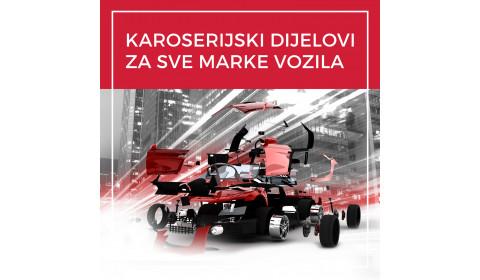 Originalni i zamjenski karoserijski dijelovi za sve marke i modele vozila
