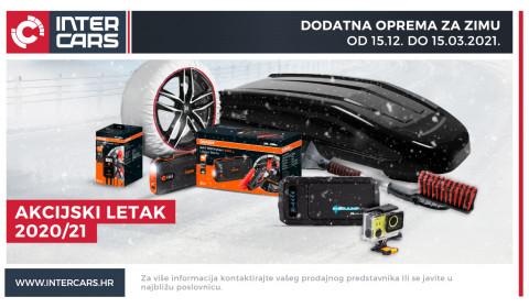 Zimski letak opreme za vozila i garažu 2020.