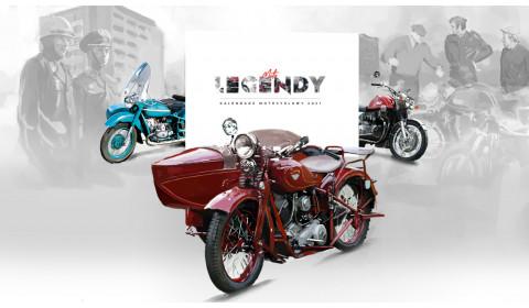 Moto Legendy – Kalendarz na 2021 rok