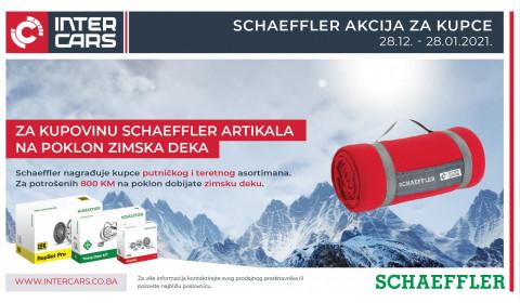 Kupujte SCHAEFFLER artikle i na poklon osvojite ZIMSKU DEKU