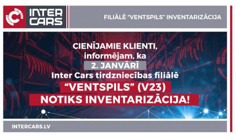 """Filiāles V23 """"Ventspils"""" inventarizācija"""