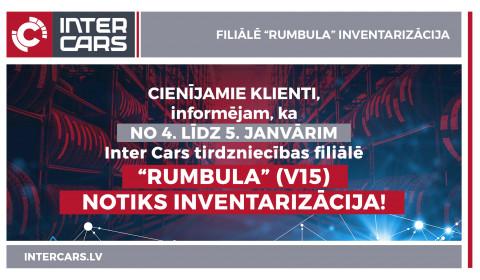 "Filiāles V15 ""Rumbula"" inventarizācija"