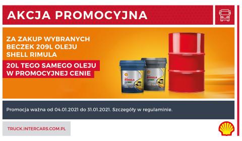 Nowa promocja na zakup oleju Shell Rimula