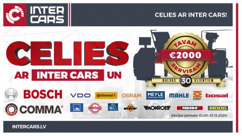Ir noslēgusies CELIES ar INTER CARS akcija!