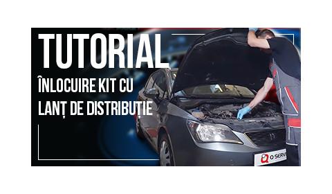 Episodul 10: Tutorial inlocuire kit cu lant de distributie la motoarele 1.2 TSI grupul VAG