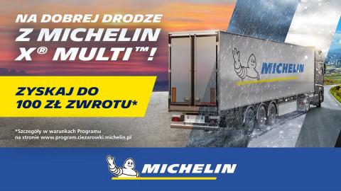 Nawet do 3600 zł zwrotu za zakup opon Michelin