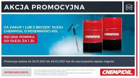 Pompka za 1 zł netto do oleju Chempioil