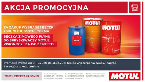 Wygrywaj w promocji Motul i Inter Cars
