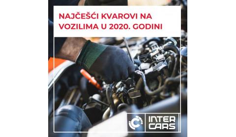 Podaci za BiH: Najčešći kvarovi na vozilima u 2020. godini