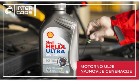 Zašto odabrati SHELL HELIX ULTRA motorno ulje?