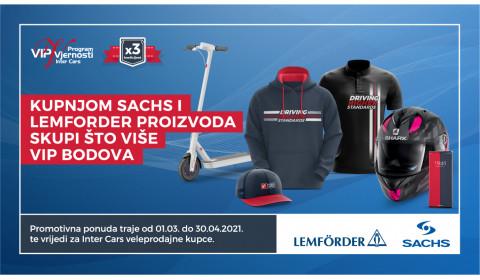 ZF (Sachs, Lemforder) promotivna ponuda
