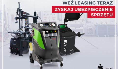 Weź leasing i zyskaj ubezpieczenie sprzętu