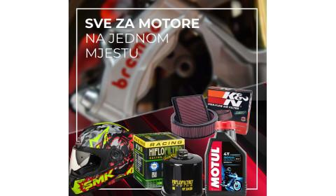 Najšira ponuda dijelova i opreme za motocikle: Posjetite Inter Cars BiH!