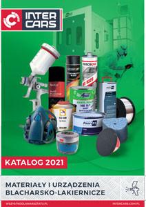 Katalog materiały i urządzenia blacharsko-lakiernicze 2021