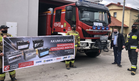 #pomagamypomagać: Wsparcie dla strażaków