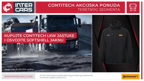 Kupuj Contitech LKW jastuke i osvoji SOFTSHELL jaknu