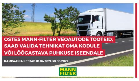 MANN-FILTER kampaania veokiklientidele
