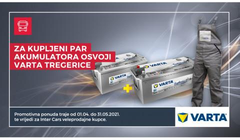 Varta promotivna ponuda akumulatora za teretna vozila