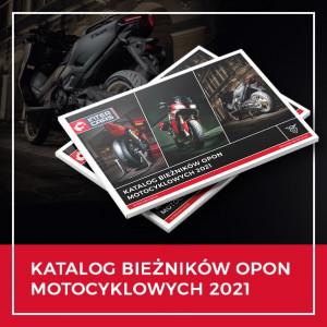 Katalog bieżników motocyklowych 2021