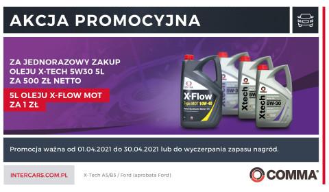 Nowa promocja na oleje firmy Comma