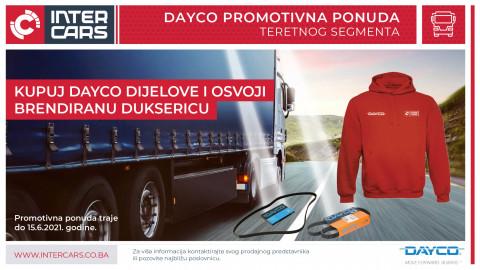 Kupovinom Dayco artikala možete osvojiti brendiranu duksericu sa kapuljačom