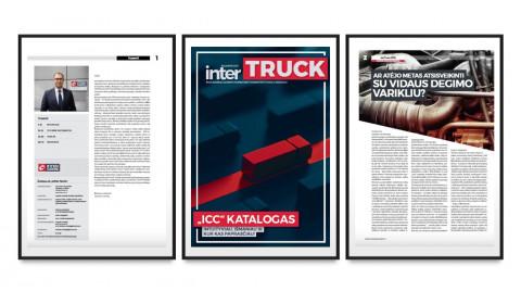 """Skaitykite elektroninę naujausio """"InterTRUCK"""" žurnalo numerio versiją!"""