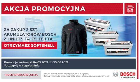 Softshell nagrodą za zakup dwóch akumulatorów Bosch