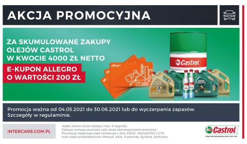 Kup olej Castrol i zyskaj e-kupon Allegro