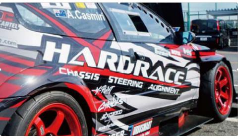 """""""Hardrace"""" pakabos elementai: maksimalus saugumas ir efektyvumas"""