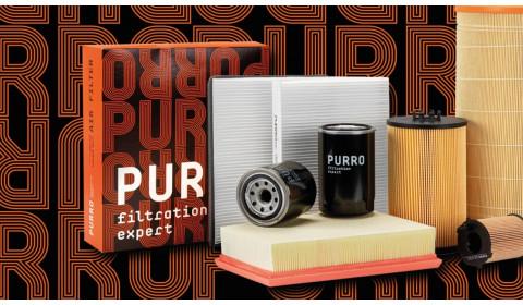 Filtry PURRO gwarantują komfortową i wydajną pracę!