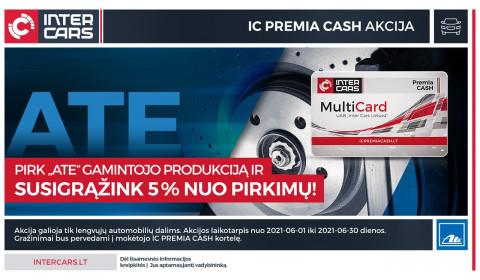 IC PREMIA CASH akcija