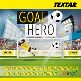 Postanite Textar Goal Hero!