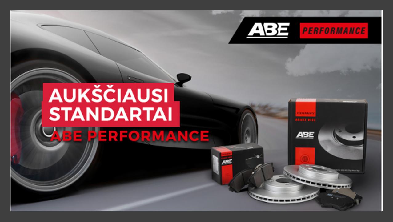ABE performance stabdžių diskai ir trinkelės.png
