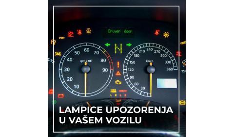Signalne lampice u automobilu