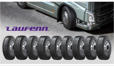 """""""Laufenn"""" pristato naują sunkvežimių padangų asortimentą"""