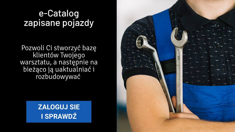 e-Catalog - zapisane pojazdy