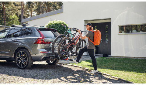 """""""Thule"""" dviračių laikikliai: saugu, patogu ir ilgaamžiška"""
