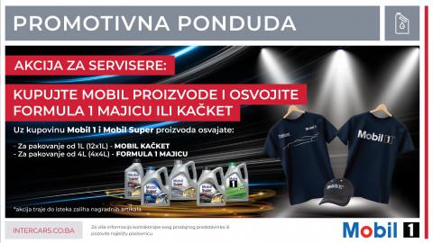 MOBIL nagrađuje: Osvoji FORMULA 1 majicu ili kačket