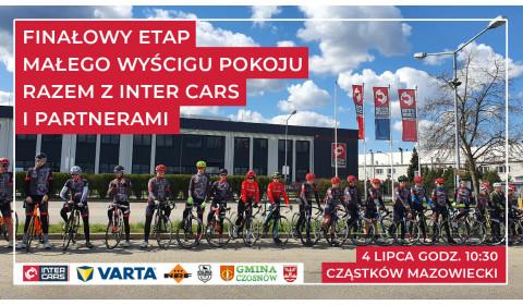 Finałowy etap Małego Wyścigu Pokoju razem z Inter Cars i Partnerami
