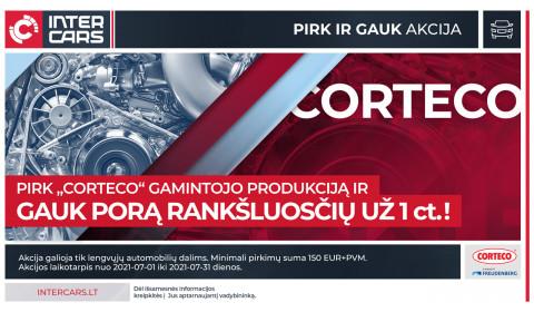 CORTECO akcija