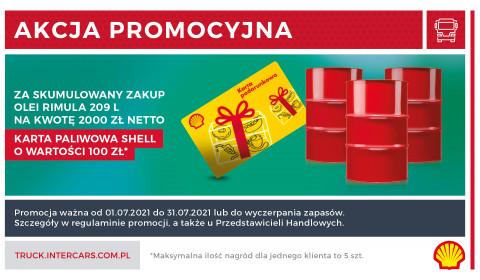 Otrzymaj kartę paliwową w promocji Shell