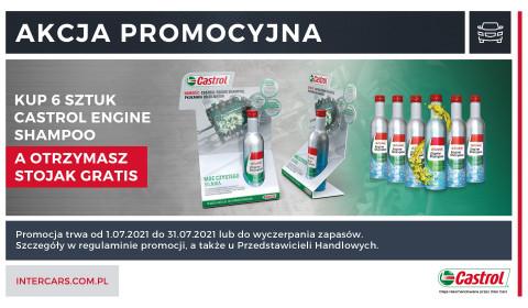 Promocja na środki do czyszczenia silników Castrol
