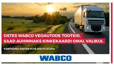 WABCO kampaania veokiklientidele